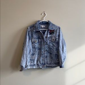 Jackets & Blazers - Jean Jacket with Embroidery